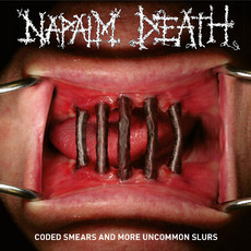 CD NAPALM DEATH - CODED SMEARS AND MORE UNCOMMON SLURS (CD DUPLO)