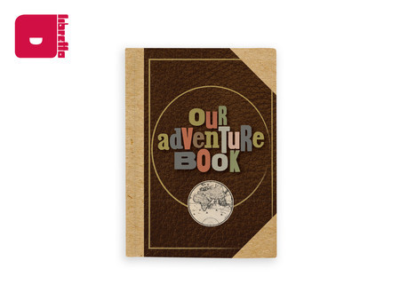 Diário de bordo - Our Adventure Book | Caderno capa dura 19x14cm