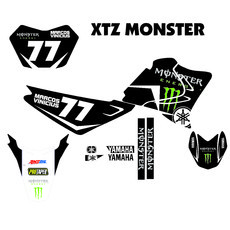 Kit Gráfico XTZ Monster