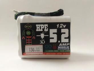Bateria Lipo 6 Células 12v - 5.2 AMP