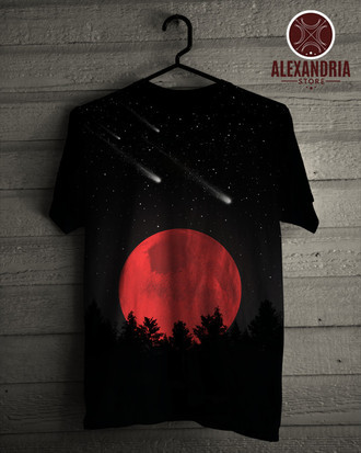 Camiseta Lua de Sangue