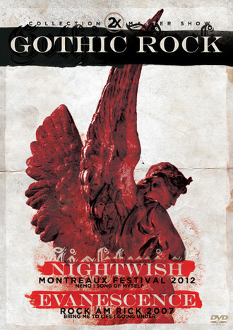 DVD 2X GOTHIC ROCK - NIGHTWISH & EVANESCENCE (STRINGS)