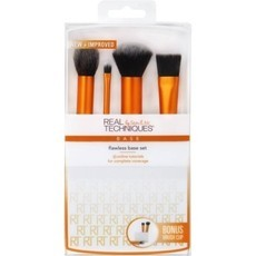 KIT PINCEIS DE MAQUIAGEM FLAWLESS BASE SET REAL TECHNIQUES