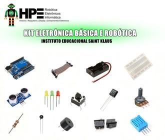 Kit Eletrônica Básica e Robótica Escola Saint Klaus