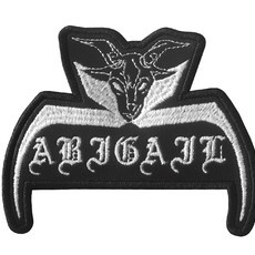 ABIGAIL Official Embroidered Patch  *PRE ORDER