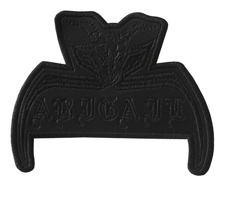 ABIGAIL Official Embroidered Patch (Black) *PRE ORDER