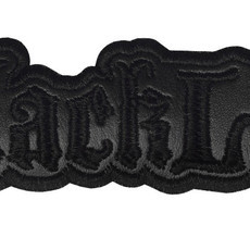 BLACK LAB  Official Embroidered Patch (Black)