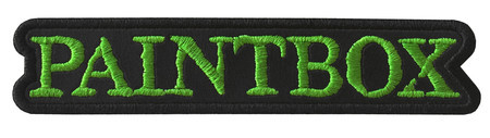 PAINTBOX  Official Embroidered Patch (Green)