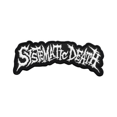 SYSTEMATIC DEATH Logo 2 Official Embroidered Patch