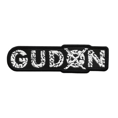 GUDON Official Embroidered Patch