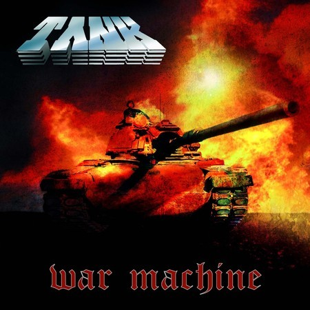 CD TANK - WAR MACHINE (NOVO/LACRADO)