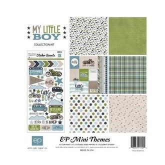 "KIT ECHO PARK 12""X12"" - EP MINI THEMES - MY LITTLE BOY"
