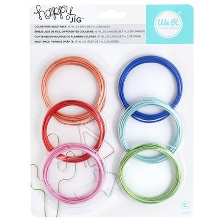 ARAME - COLOR WIRE MULTI PACK - HAPPY JIG - WE R