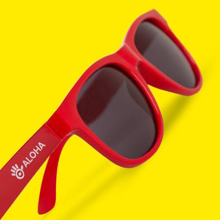 Óculos Vermelho Aloha 0c8692e323