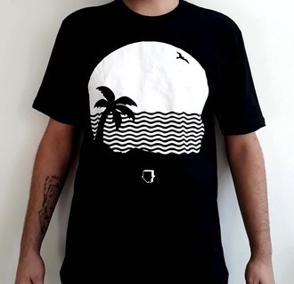 ​Camiseta THE NEIGHBOURHOOD - WIPED OUT! (THE NBHD) (COR PRETA)