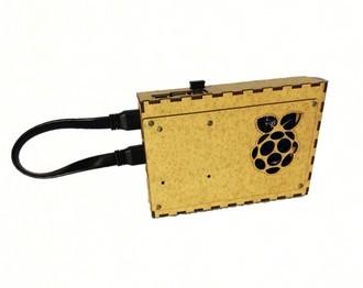 Case Para Raspberry e Tela de 5 polegadas