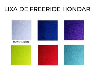 Lixa Hondar Freeride Griptape Colorida