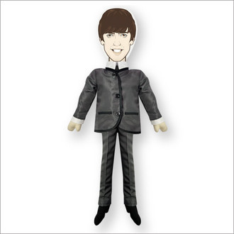 Boneco Beatles George - Os Reis do iê iê iê