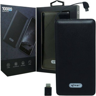 Power Bank 10000 Mah -kp-pb01 - Knup