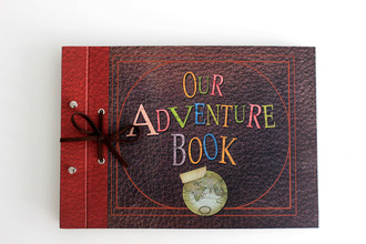 Scrapbook Our Adventure Book