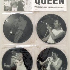 LP Queen - Interviews And Press Conferences ( Importado / Raro )