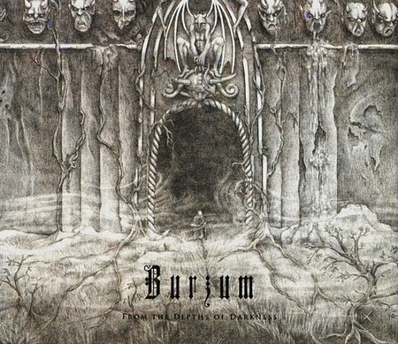 CD BURZUM - FROM THE DEPTHS OF DARKNESS (NOVO/LACRADO)