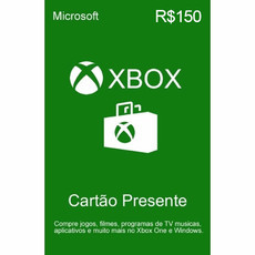 Gift Card Microsoft Xbox Store (R$150)
