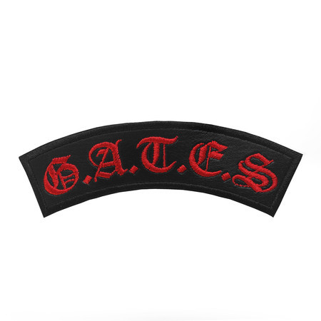 G.A.T.E.S. Official Embroidered Patch (Red)