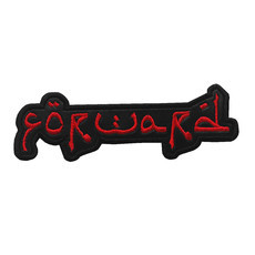 FORWARD Official Embroidered Patch (Red)