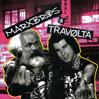 MARXBROS / TRAVOLTA - Split LP