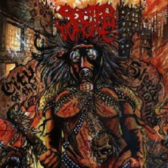 SPLATTER WHORE / City of the Sleazehounds (CD)