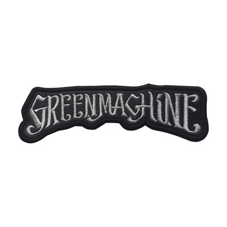 GREENMACHINE Logo Official Embroidered Patch