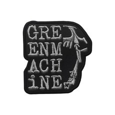 GREENMACHINE Ultra Primitive Official Embroidered Patch