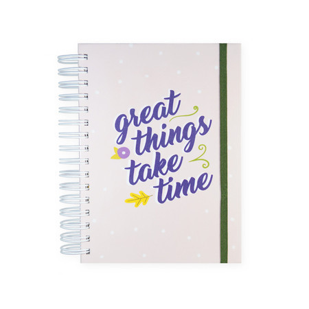 "Full Planner ""great things take time"""