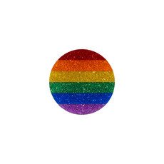 Broche ou Imã PRIDE Circle