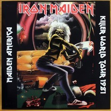LP Iron Maiden - Maiden America - Killer World Tour 1981 ( Importado)