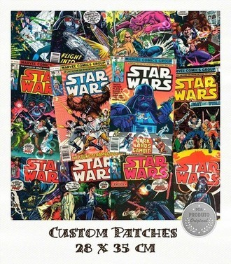 Patch Star Wars Comics - Importado