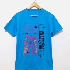 ​Camiseta BUZZCOCKS (COR AZUL)