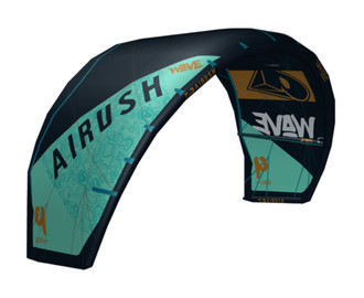 Kite Airush Wave V8 Reefer Blue 9m