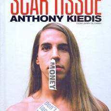 Livro SCAR TISSUE - ANTHONY KIEDIS - RED HOT CHILLI PEPPERS