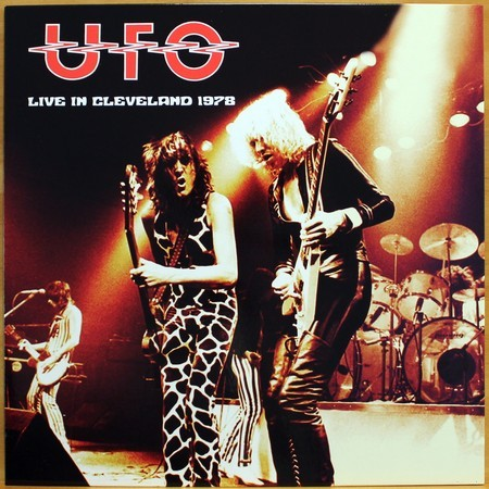 LP UFO - Live in Cleveland 1978 ( Bootleg Importado )
