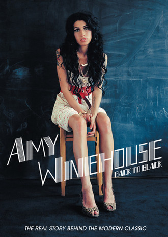 DVD AMY WINEHOUSE - BACK TO BLACK – THE REAL STORY BEHIND THE MODERN