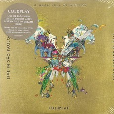 CD COLDPLAY - A HEAD FULL OF DREAMS BUTTERFLY PACKAGE (2 CDs+2 DVDs)