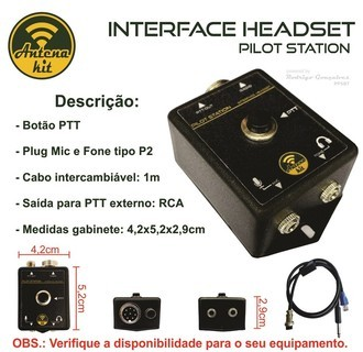 INTERFACE P/HEADSET