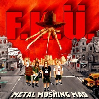 CD F.K.Ü. - METAL MOSHING MAD (NOVO/LACRADO)