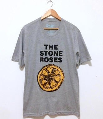 ​Camiseta ​THE STONE ROSES (COR CINZA)