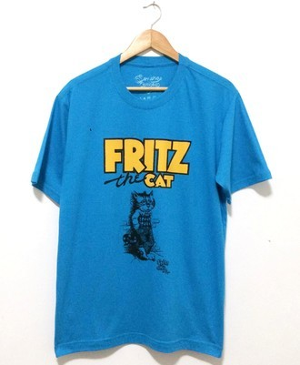 ​Camiseta ​FRITZ THE CAT (COR AZUL)