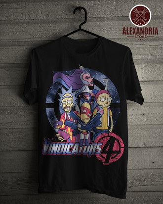 Camiseta Vindicators 4