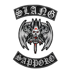 SLANG Official Embroidered Back Patch set
