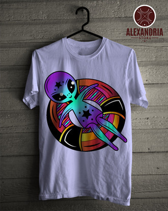 Camiseta Alien Star